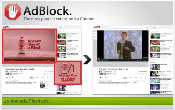 block pandora ads chrome